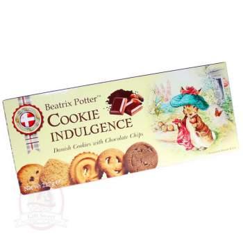 Beatrix Potter Печенье Ассорти датского сливочного и шоколадного печенья
