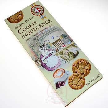 Beatrix Potter Печенье Ассорти датского печенья со вкусом капучино и кусочками шоколада