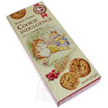 Beatrix Potter Печенье Ассорти датское с клюквой и овсяными хлопьями