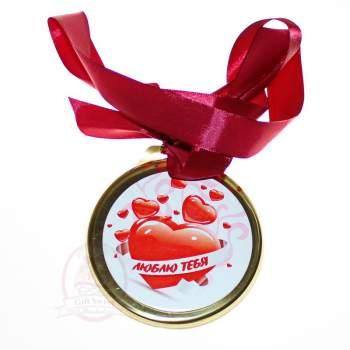 "Конфаэль Медаль ""Люблю тебя"""