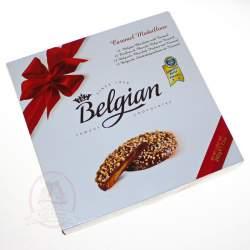 Belgian Конфеты шоколадные медальоны с карамельной начинкой 200г