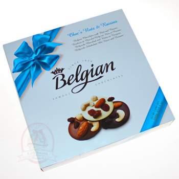 Belgian Конфеты шоколадные с орехами и изюмом