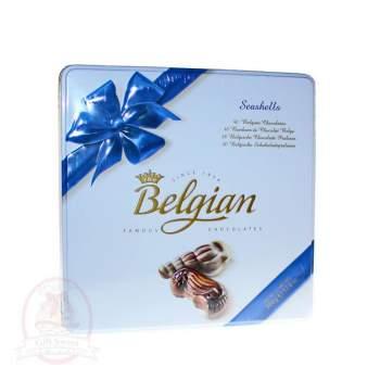Belgian Конфеты шоколадные Дары моря (метал. кор.)