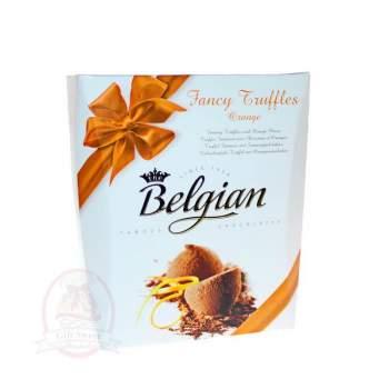 Belgian Конфеты Трюфели с кусочками апельсинов