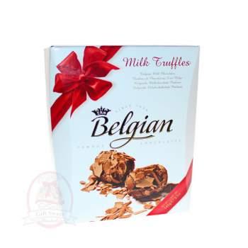 Belgian Конфеты Трюфели из молочного шоколада в хлопьях