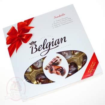 """Belgian конфеты шоколадные """"Дары моря"""" красный бант"""