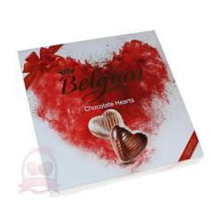 """Belgian Конфеты """"Шоколадные сердечки"""" 200г"""