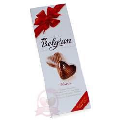 """Belgian Конфеты """"Шоколадные сердечки"""" 65г"""