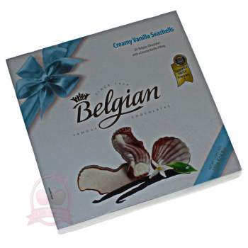 Belgian конфеты шоколадные с ванильной начинкой