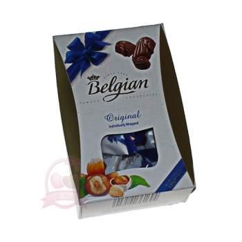 Belgian конфеты шоколадные с ореховой начинкой