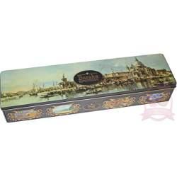 """Baraka подарочный набор трюфелей с цельным орехом ручной работы """"Венеция"""" ж/б 300г"""