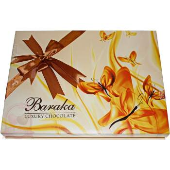 """Baraka конфеты шоколадные ассорти трюфелей ручной работы """"Бабочки"""""""