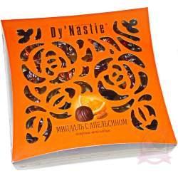 """Династия конфеты шоколадные """"Миндаль с апельсином"""" 145г"""