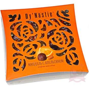 """Династия конфеты шоколадные """"Миндаль с апельсином"""""""