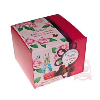 Chocolat Mathez Французские трюфели Peter Rabbit с печеньем Macaron с малиной