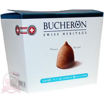 Bucheron конфеты шоколадные трюфель с цельным фундуком 175г