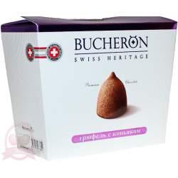 Bucheron конфеты шоколадные трюфель с коньяком175г