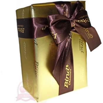 Bind Конфеты Шоколадные Подарочные Золотая Упаковка