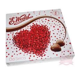 E.Wedel Конфеты Шоколадные Сердечки С Карамельной Начинкой 117г