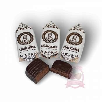 Golden Candies конфеты шоколадные Царские классические