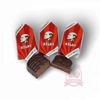 Golden Candies конфеты шоколадные Ильич