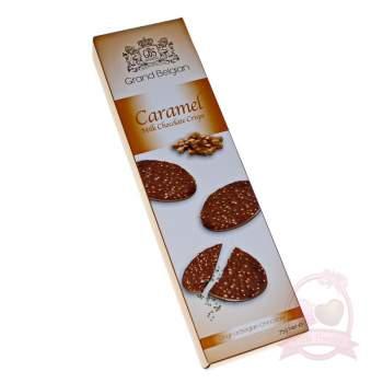 G.B.S. Медальоны хрустящие из молочного шоколада с ароматом карамели