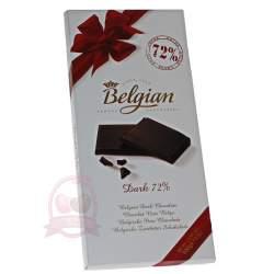 Belgian шоколад горький 72% 100г