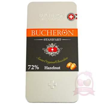 Bucheron Шоколад ж/б горький с фундуком