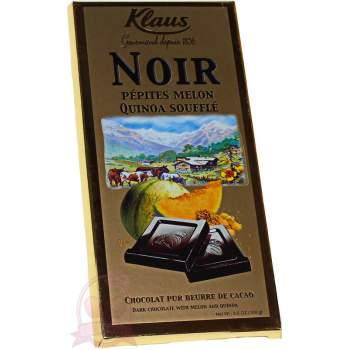 Klaus шоколад горький с дыней и киноа
