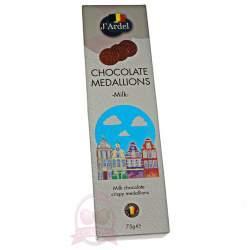 J'Ardel Медальоны из молочного шоколада 75г