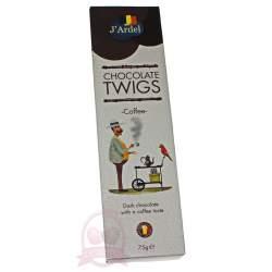 J'Ardel Хворост из темного шоколада с кофе 75г