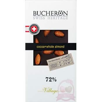 Bucheron Шоколад горький фундук