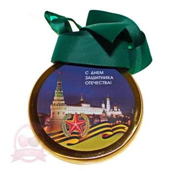 "Конфаэль Шоколад молочный  Медаль ""23 февраля"""