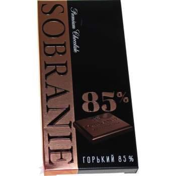 Sobranie Шоколад Горький 85%