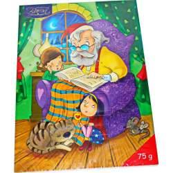 Baron Шоколад Молоч. Фигурный Новогодний Календарь 75г