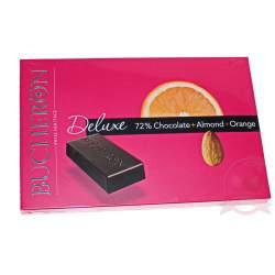 Bucheron Deluxe шоколад горький с миндалем и апельсином 95г