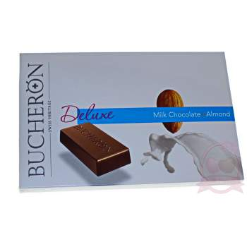 Bucheron Deluxe шоколад молочный с миндалем