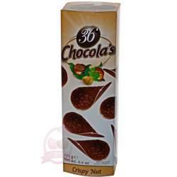Hamlet хрустящие чипсы из молочного шоколада с лесными орехами 125г