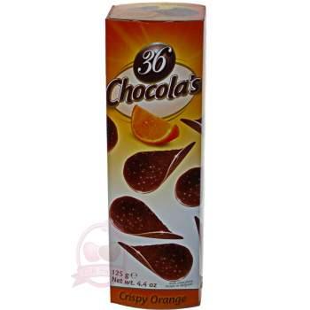 Hamlet хрустящие чипсы из молочного шоколада с апельсином