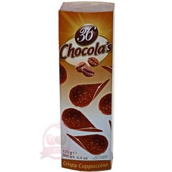Hamlet хрустящие чипсы из молочного шоколада с капучино