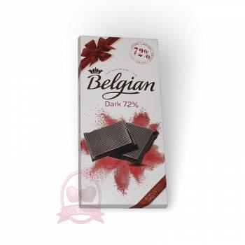 Belgian шоколад горький 72%