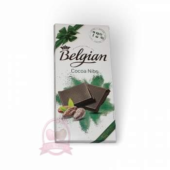 Belgian Шоколад горький с какао бобами