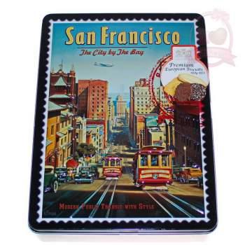 G.B.S. Печенье Ассорти бисквитное Сан Франциско