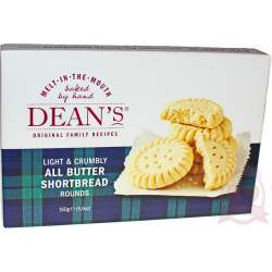Dean's Печенье Shortbread All Butter Shortbread Rounds 160г