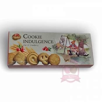 J'Ardel Датское печенье с клюквой и овсяными хлопьями