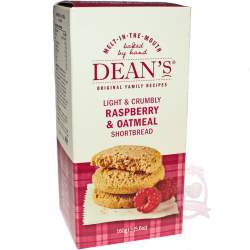Dean's Печенье Shortbread Raspberry Oatmeal 160г