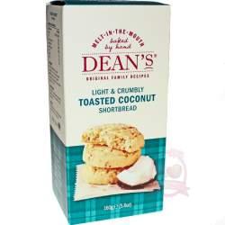 Dean's Печенье Shortbread Toasted Coconut 160г