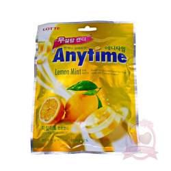 Lotte Карамель Anytime Lemon 74г