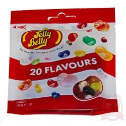 Jelly Belly драже жевательное ассорти 20 вкусов 100г