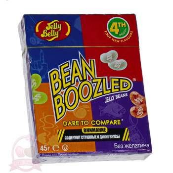 Jelly Belly драже жевательное ассорти Bean Boozled